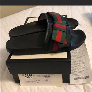 Gucci Shoes - Gucci pool slides / flip flops